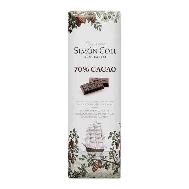 Chocolate 70% cocoa 25g