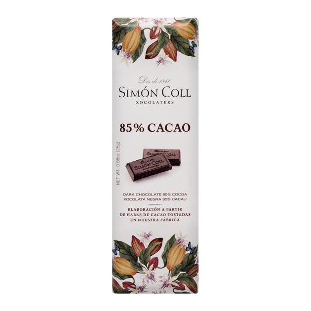 Chocolate 85% cocoa 25g