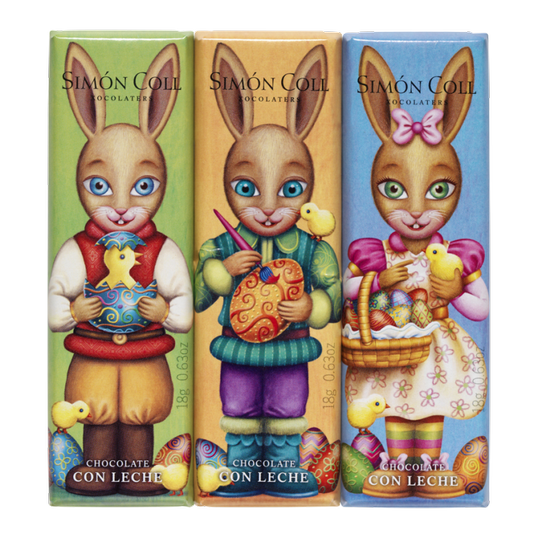 Easter pack chocolates 3x18g