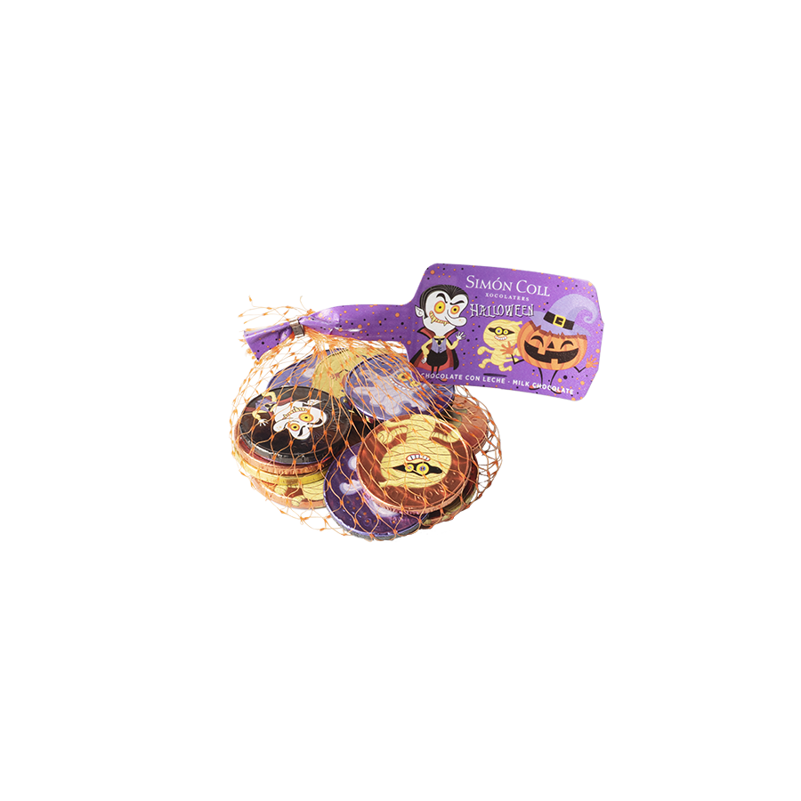 Milk Chocolate Halloween Coins 53g
