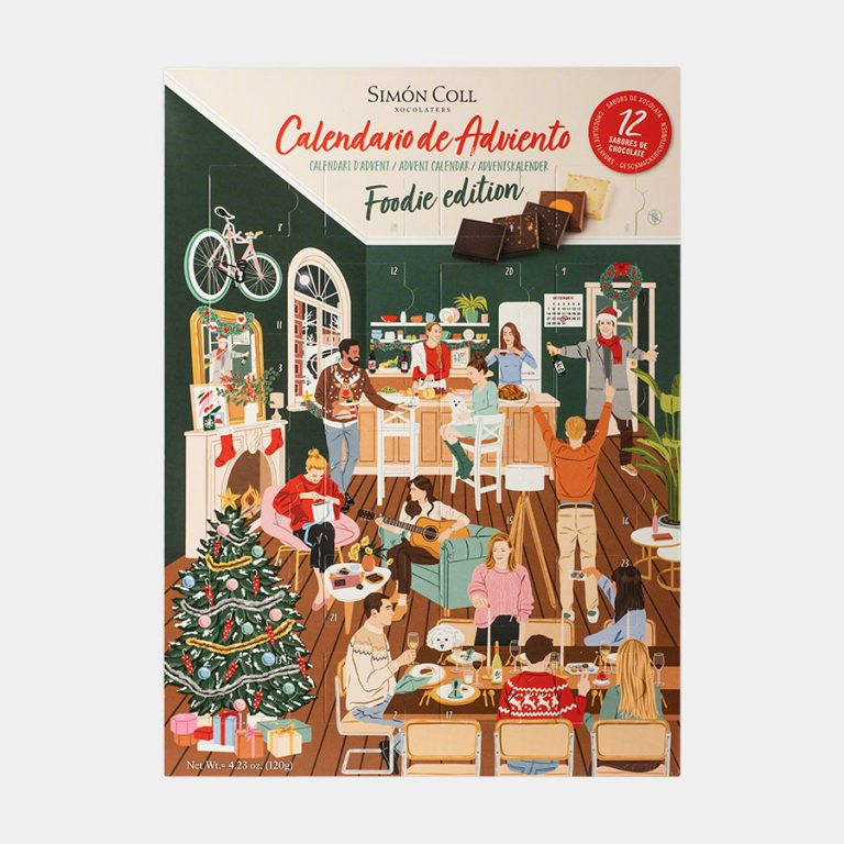 Foodie Advent Calendar 12 chocolate flavours 120g